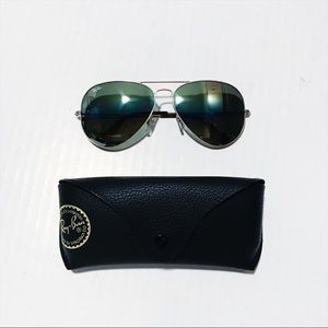 Ray Ban - Large Aviator Sunglasses